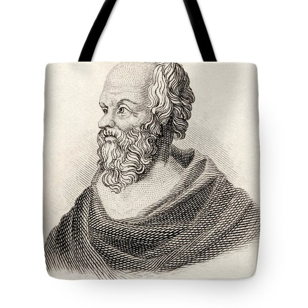 Socrates From Crabbes Historical Dictionary Tote Bag