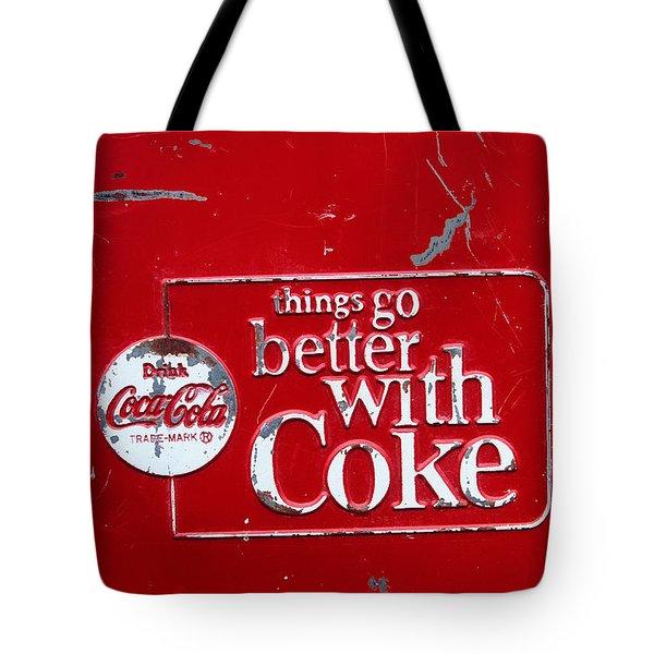 Soda Of Choice Tote Bag by Toni Hopper