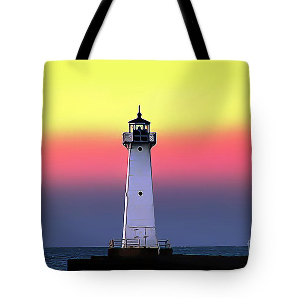 Sodus Outer Lighthouse Tote Bag