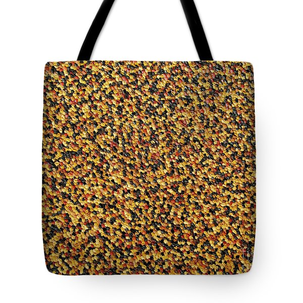 Soft Black With Brown Tote Bag by Dean  Triolo