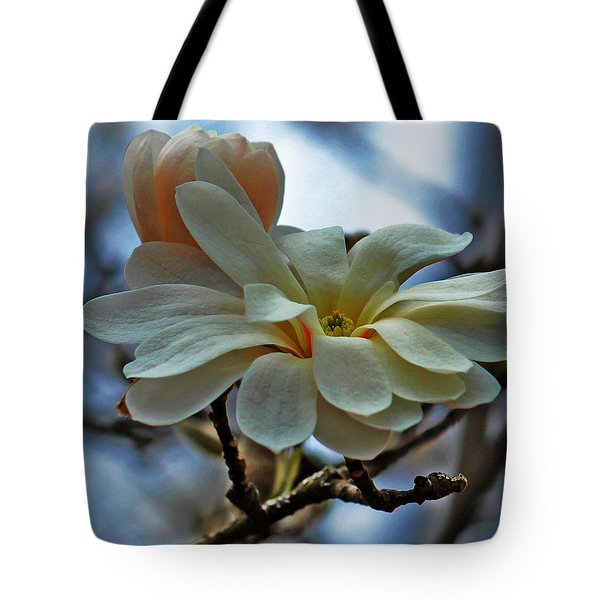 Soft Blooms Tote Bag