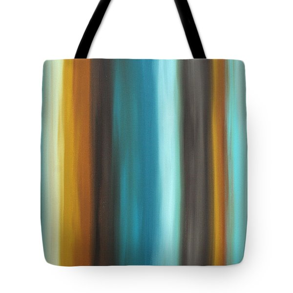 Soft Chocolate By Madart Tote Bag by Megan Duncanson