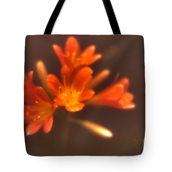 Soft Focus Kaffir Lily Tote Bag