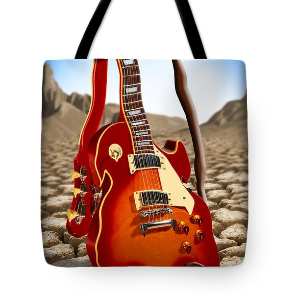 Soft Guitar Tote Bag by Mike McGlothlen