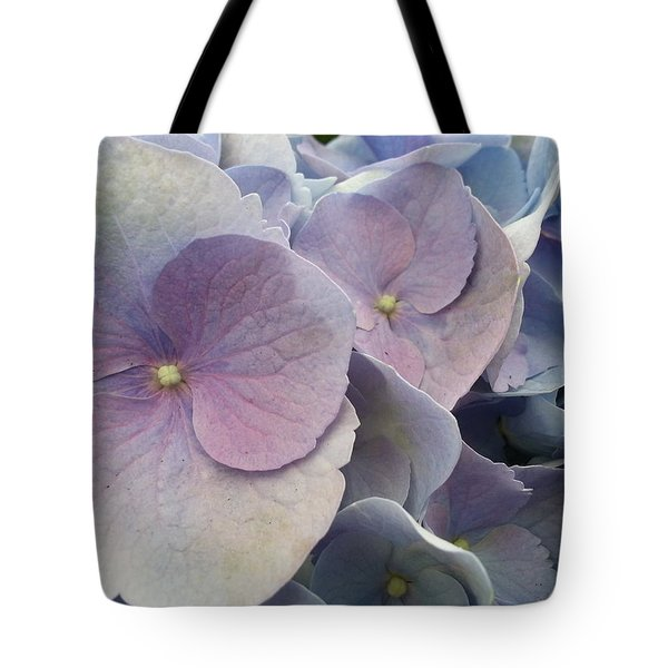 Tote Bag featuring the photograph Soft Hydrangea  by Caryl J Bohn