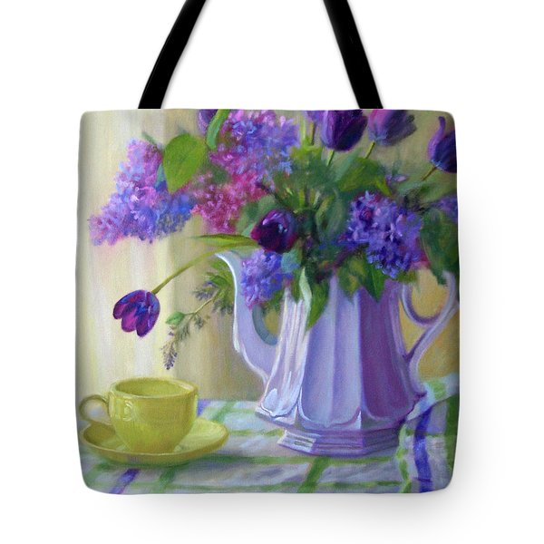 Soft Light Tote Bag by Bonnie Mason