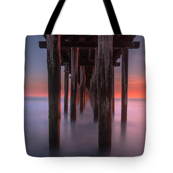Soft Light From Starboard Tote Bag by Tim Bryan
