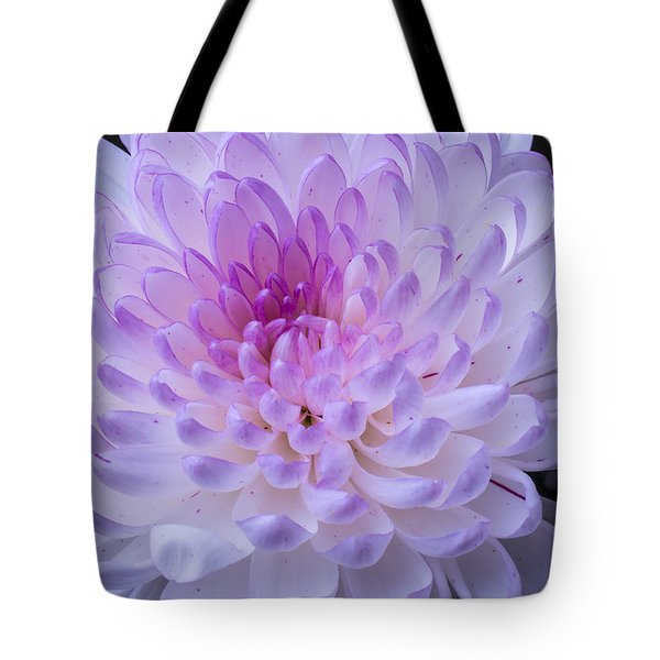 Soft Pink Mum Tote Bag by Garry Gay