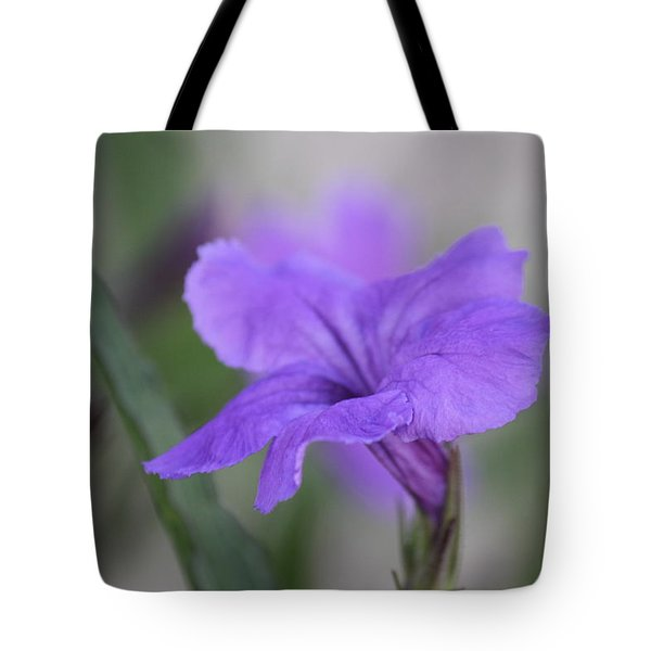 Tote Bag featuring the photograph Soft Purple Floral by Penny Meyers