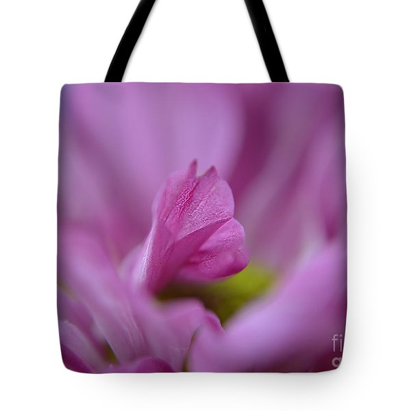 Soft Purple Tote Bag by Michelle Meenawong
