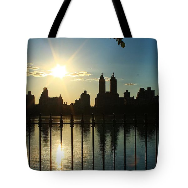 Soft Reflections Tote Bag by Catie Canetti