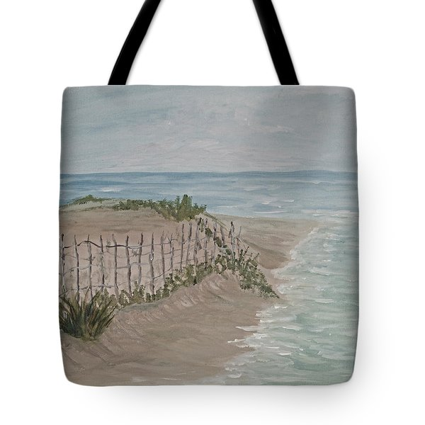 Soft Sea Tote Bag