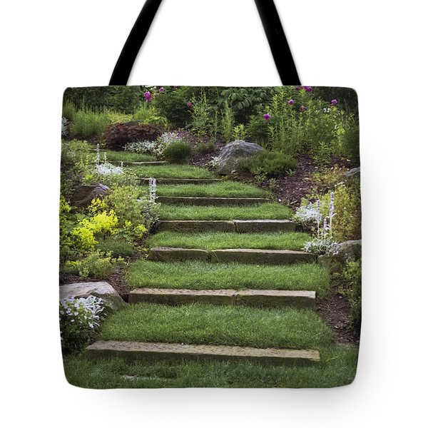 Soft Stairs Tote Bag