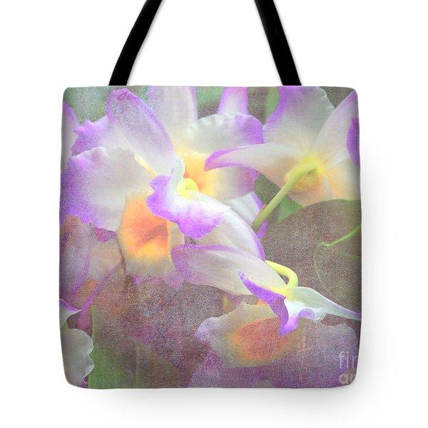 Soft Subtle Orchids Tote Bag