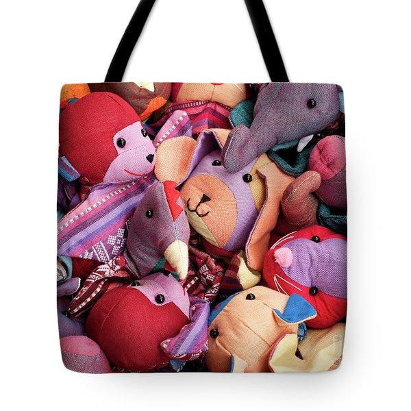 Soft Toys 02 Tote Bag
