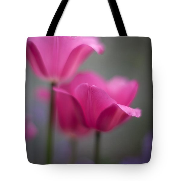 Soft Tulip Twilight Tote Bag by Mike Reid
