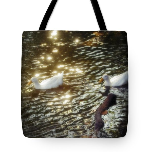 Soft White Tote Bag by Brian Wallace