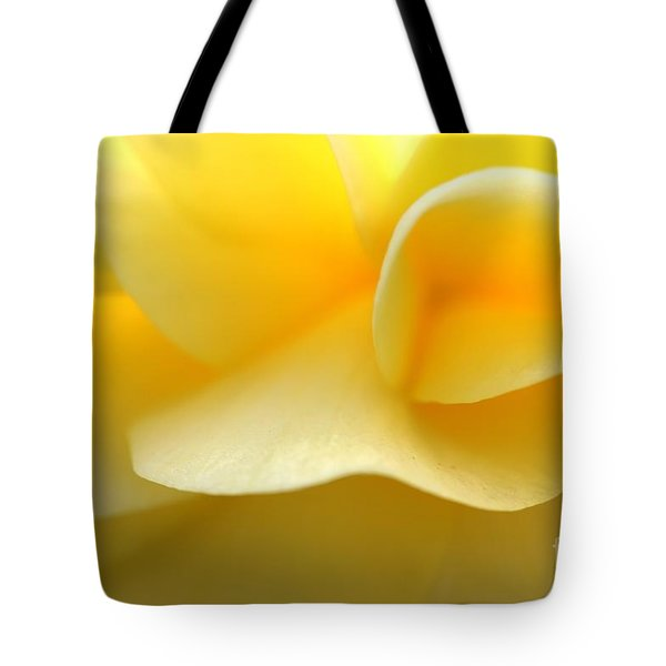 Soft Yellow Tote Bag