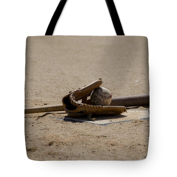 Softball Tote Bag by Bill Cannon