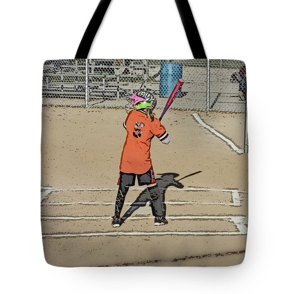 Softball Star Tote Bag by Michael Porchik