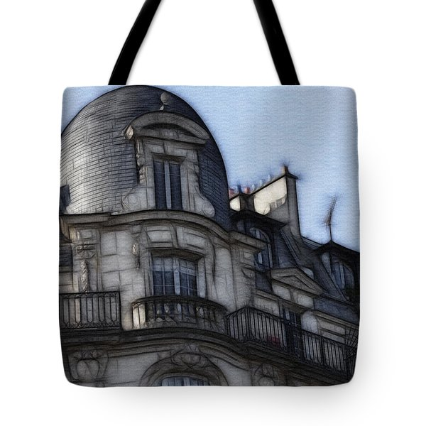 Softer Side Of Paris Architecture Tote Bag