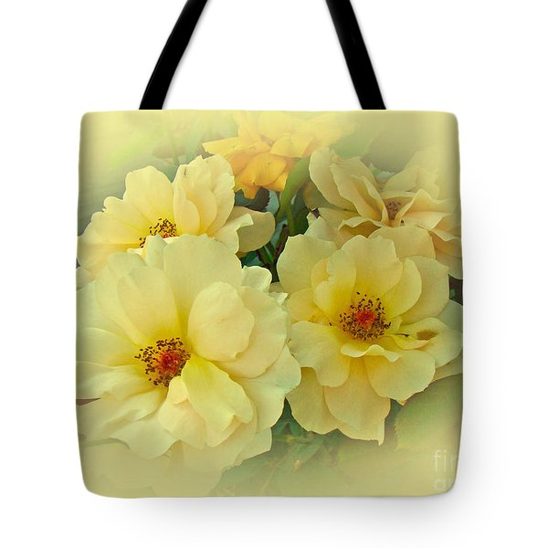 Softly And Sweetly Tote Bag by Mother Nature