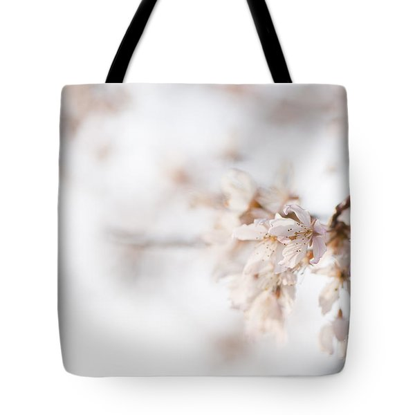 Softly Blossom Tote Bag by Anne Gilbert