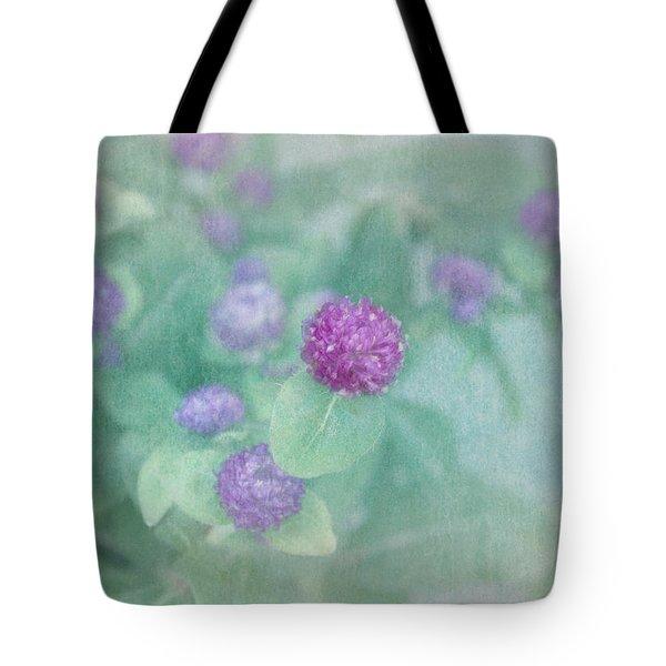 Softly Clover Tote Bag by Kim Hojnacki