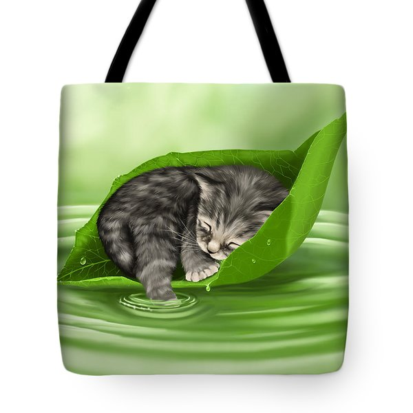 Softly Lulled Tote Bag by Veronica Minozzi