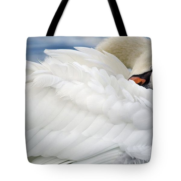 Softly Sleeping Tote Bag
