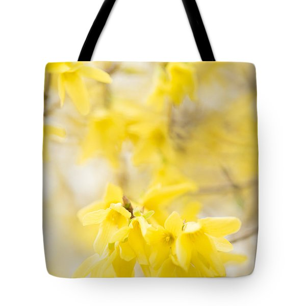 Softly Yellow Tote Bag by Anne Gilbert