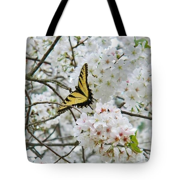 Softness Of Spring Tote Bag