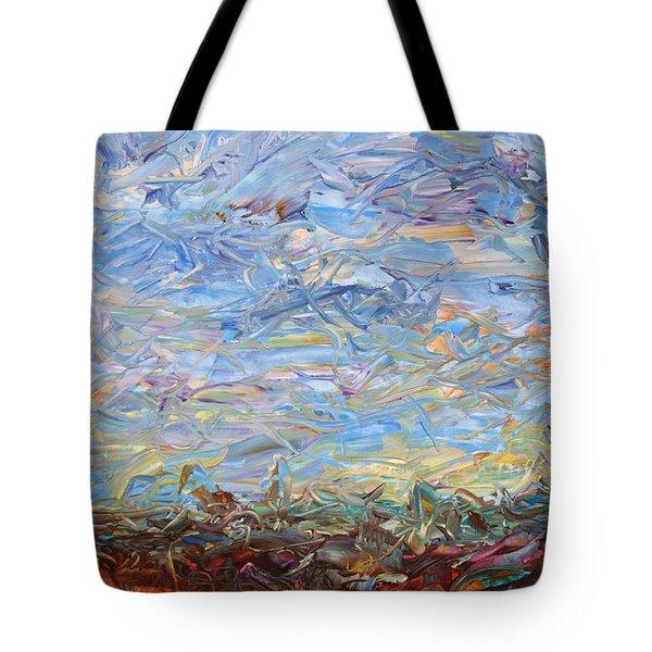 Soil Turmoil Tote Bag by James W Johnson