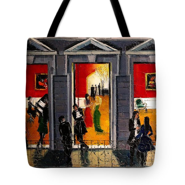 Soiree Parisienne Tote Bag