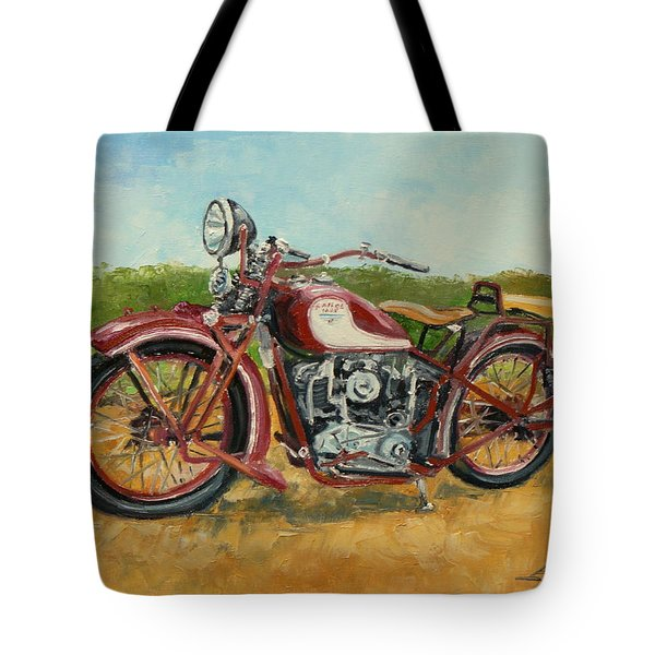 Sokol 1000 - Polish Motorcycle Tote Bag