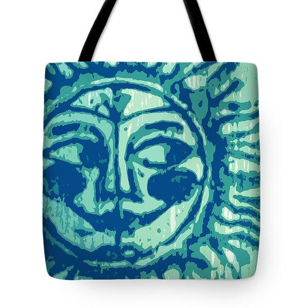 Sol -aqua Tote Bag
