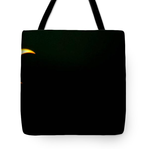 Tote Bag featuring the photograph Solar Eclipse 2012 by Angela J Wright