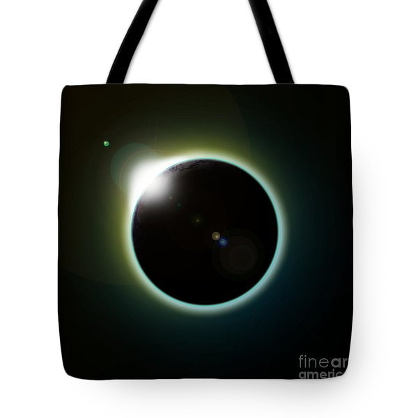 Solar Eclipse Tote Bag by Antony McAulay