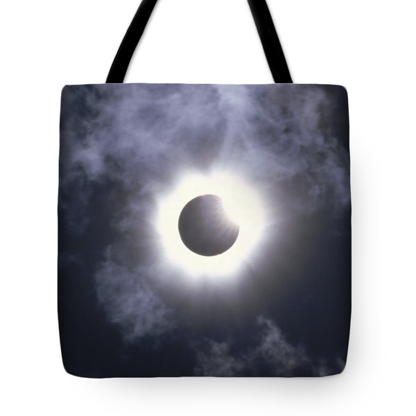 Solar Eclipse August 11 1999 Tote Bag by Konrad Wothe