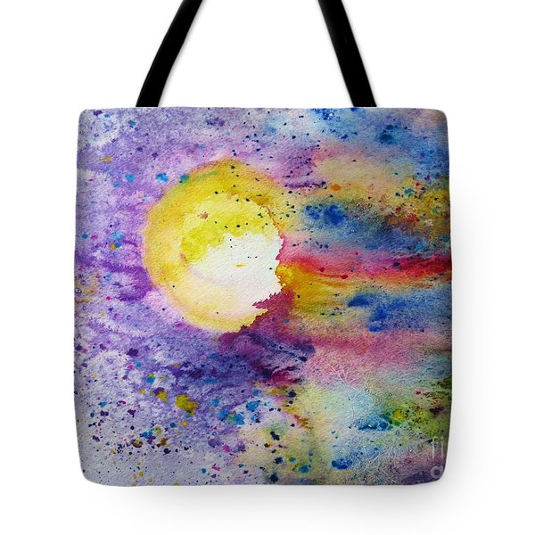 Solar Flair Tote Bag by Desiree Paquette