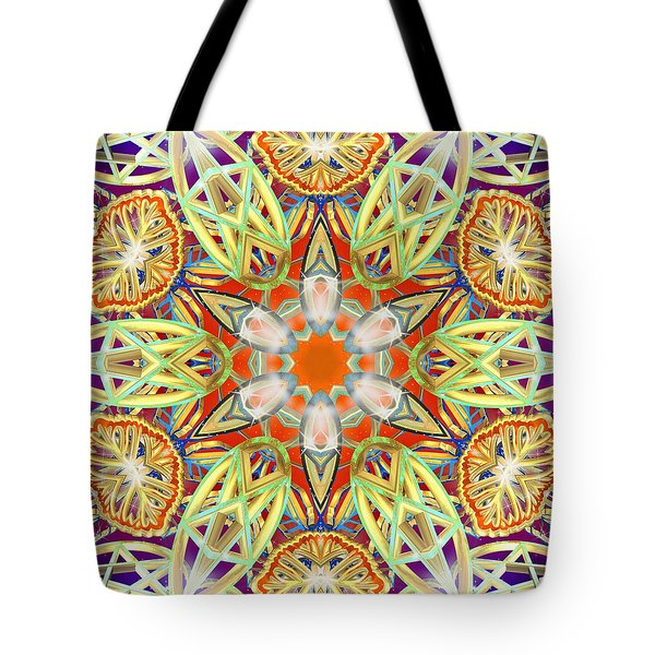 Solar Lattice Tote Bag