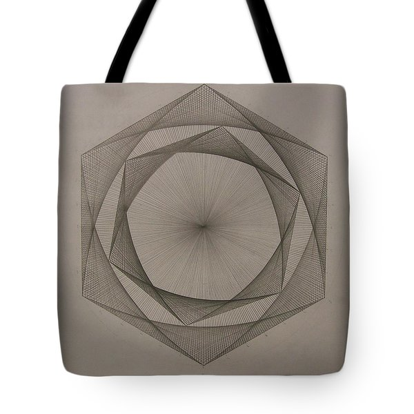 Solar Spiraling Tote Bag