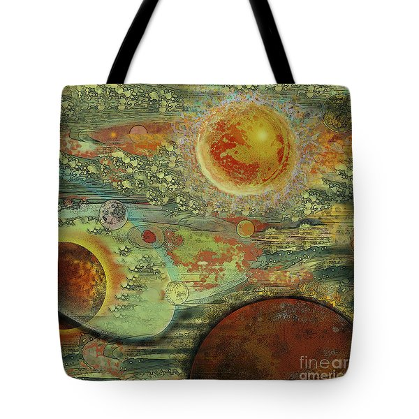 Solar Symphony Tote Bag by Carol Jacobs
