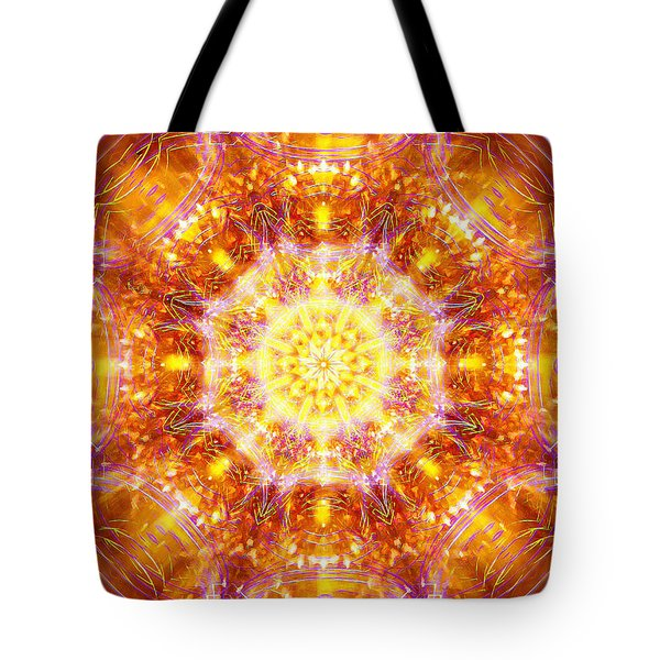 Solarene Tote Bag by Jalai Lama