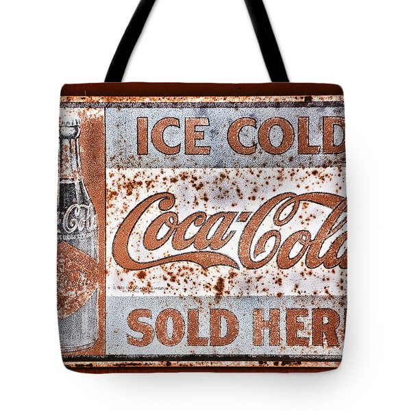 Sold Here Tote Bag by Karol Livote