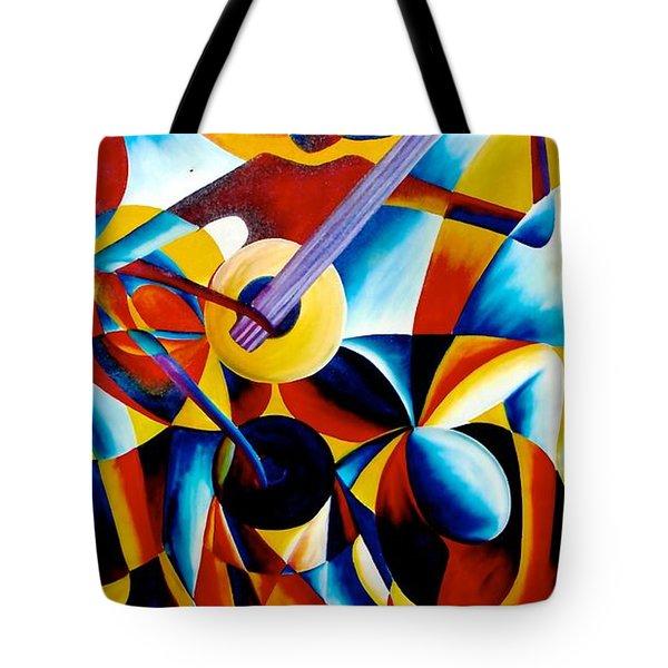 Sole Musician Tote Bag