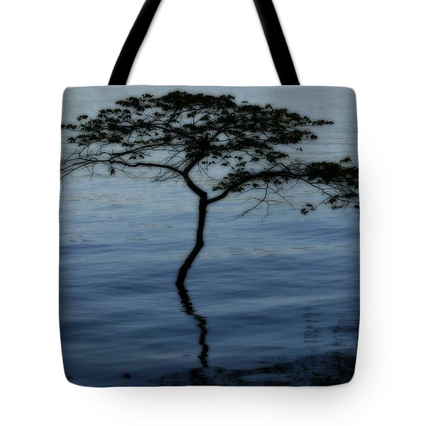 Solitaire Tree Tote Bag