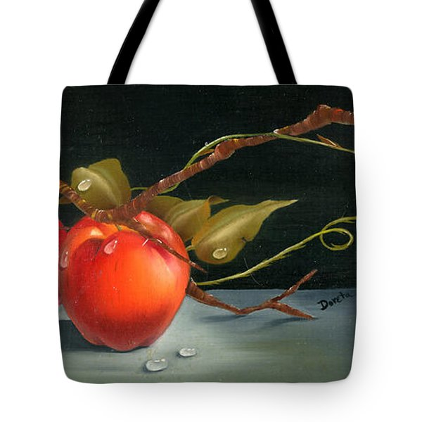 Solitary Apples Tote Bag