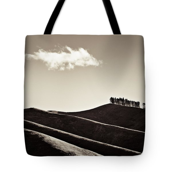Solitary Cloud Tote Bag by Dave Bowman