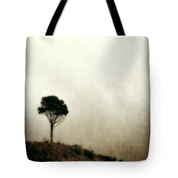Solitary Tree Tote Bag
